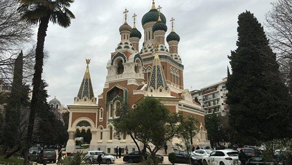 Свято-Николаевский собор в Ницце, Франция