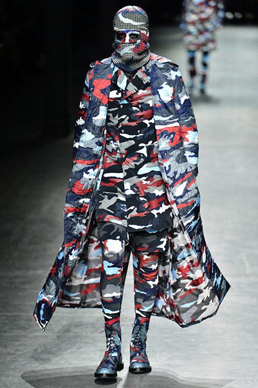 Показ коллекции Moncler Gamme Bleu во время Недели мужской моды в Милане