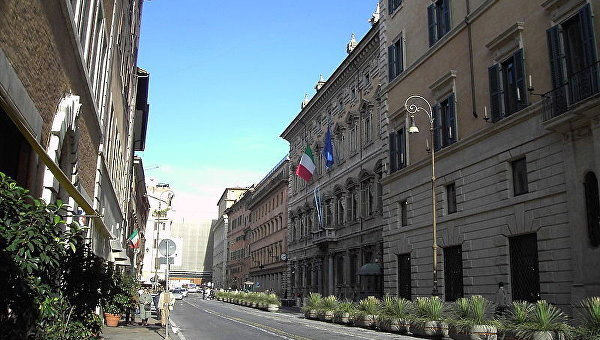 Здание итальянского Сената — палаццо Мадама в Риме. Архивное фото