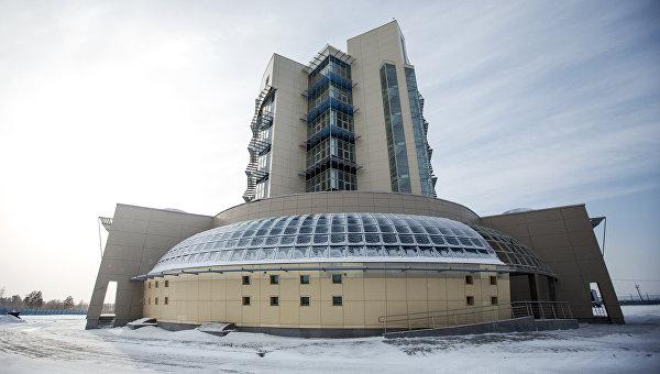 Административный комплекс космодрома Восточный. Архивное фото