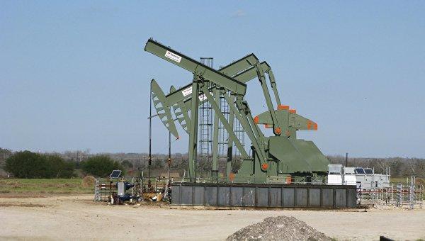 Добыча нефти на месторождении Игл Форд, 13 января 2016