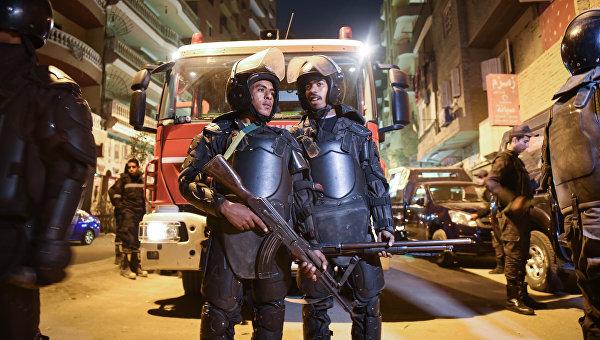 Полицейские Каира. Архивное фото