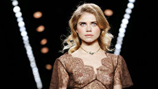 Показ коллекции Lena Hoschek во время недели моды в Берлине
