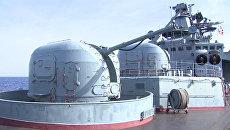На боевом корабле в Сирии: экскурсия для СМИ на борту Вице-адмирала Кулакова