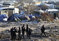 Лагерь мигрантов в городе Кале, Франция