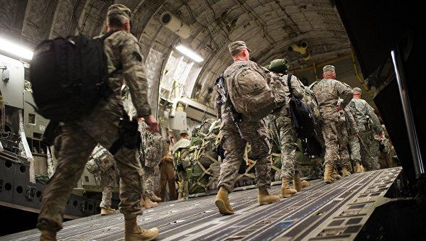Солдаты армии США. Архив