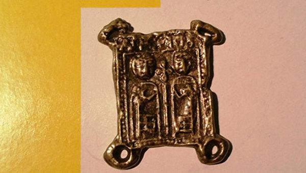 Официальный знак паломника изготовлен по случаю Святого года милосердия в Ватикане