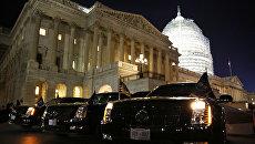 Здание Конгресса США (Капитолий) в Вашингтоне
