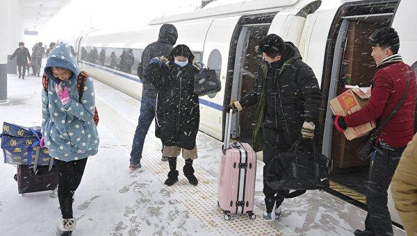 Рекордные холода в Китае