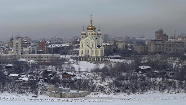 Вид Хабаровска. Архивное фото