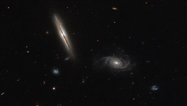 Галактика LO95 0313-192 в созвездии Эридана