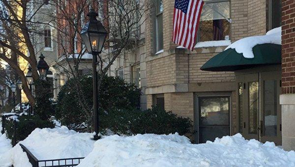 Вашингтон после снегопада