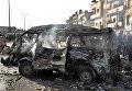 На месте двойного теракта в Хомсе