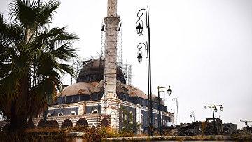 Ситуация в городе Хомс, Сирия. Архивное фото