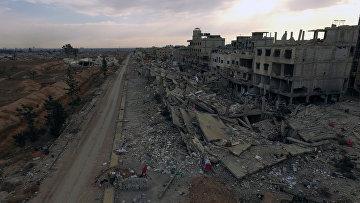 Пригород Дамаска Дарайа. Архивное фото