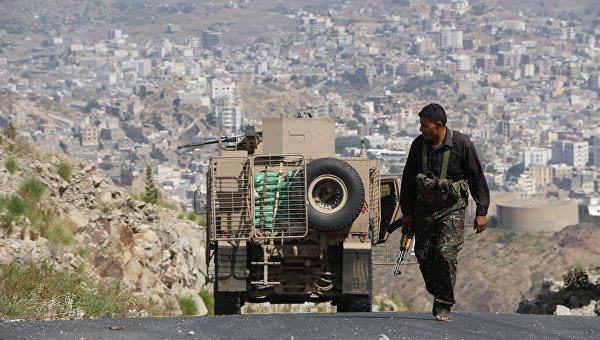Ситуация в городе Таиз. Архивное фото