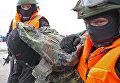 Антитеррористические учения в морском порту Калининграда