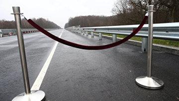 Открытие нового моста на трассе Калининград — Мамоново — граница Республики Польша