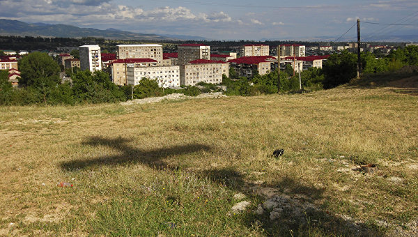 Цхинвал через год после военного конфликта с Грузией. Архивное фото