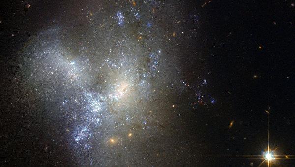 Галактика NGC 1487 в созвездии Эридана