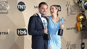 Леонардо Ди Каприо и Бри Ларсон получили награды гильдии киноактеров. 31 января 2016