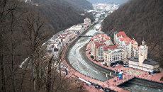 Открытие зимнего сезона в Сочи. Архивное фото
