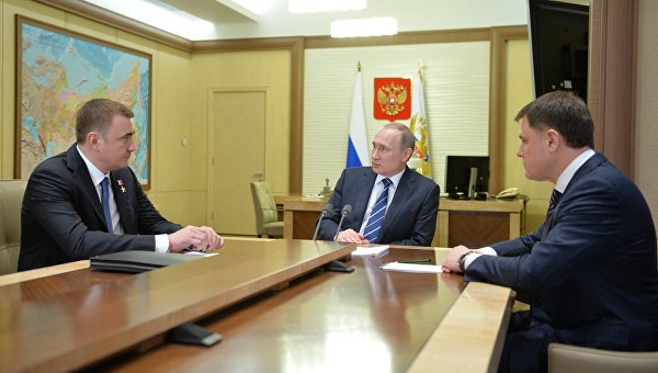 Президент РФ В. Путин принял отставку губернатора Тульской области В. Груздева