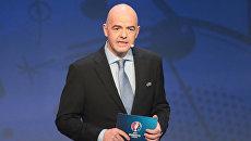 Генеральный секретарь УЕФА Джанни Инфантино. Архивное фото