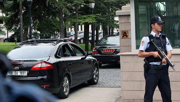 Въезд в министерство внутренних дел Турции в Анкаре. Архивное фото