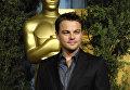 Американский актер и продюсер Леонардо Ди Каприо. Кинопремия Оскар, 2007 год