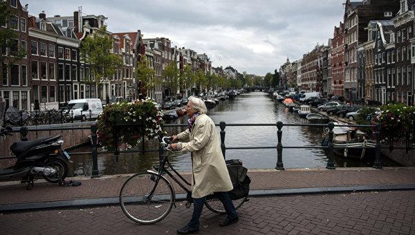 Амстердам. Голландия. Архивное фото