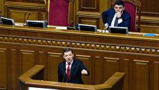 Лидер Радикальной партии Олег Ляшко. Архивное фото