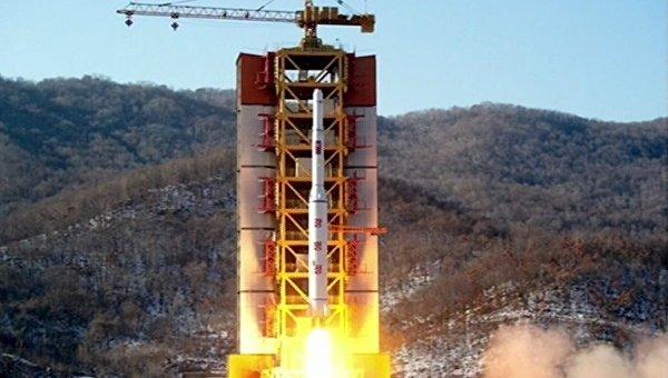 Запуск ракеты в КНДР. Архивное фото