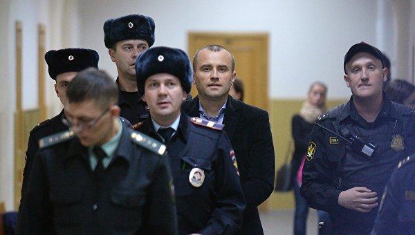 Бывший директор аэропорта Домодедово Вячеслав Некрасов в Басманном суде Москвы