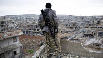 Курдский снайпер. Архивное фото