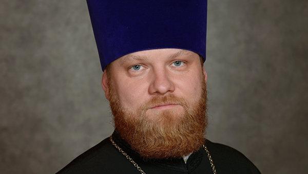 Пресс-сектерарь патриарха Московского и всея Руси Кирилла священник Александр Волков