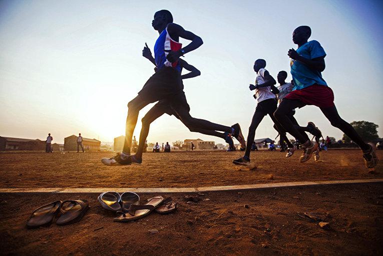Соревнования по легкой атлетике в Южном Судане