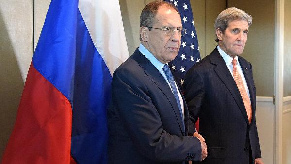 Встреча главы МИД РФ С. Лаврова и госсекретаря США Д. Керри. 11 февраля 2016