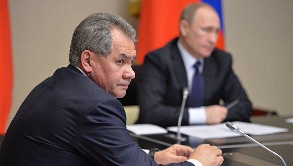 Президенту РФ В. Путину доложили о ходе проверки боеготовности в войсках ЮВО