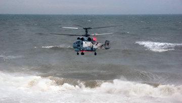 Отработка десантирования ВМФ РФ на Чёрном море, в рамках внезапной комплексной проверки боеготовности в войсках Южного военного округа