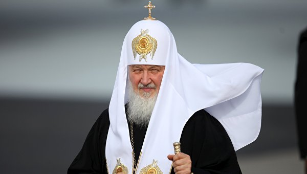 Патриарх Московский и всея Руси Кирилл во время визита на Кубу, 11 февраля 2016