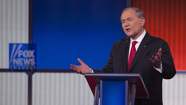 Кандидат в президенты США Джим Гилмор