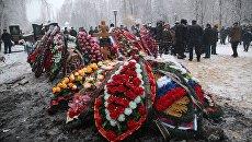 Могила героя России подполковника Олега Пешкова, погибшего в Сирии. Архивное фото