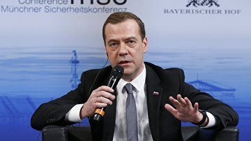 Премьер-министр РФ Д. Медведев принял участие в Мюнхенской конференции по безопасности