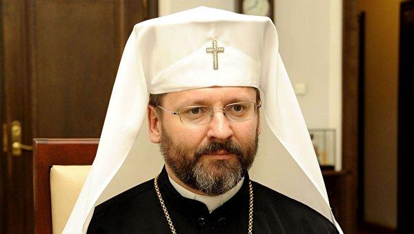 Глава Украинской греко-католической церкви (УГКЦ) Блаженнейший Святослав