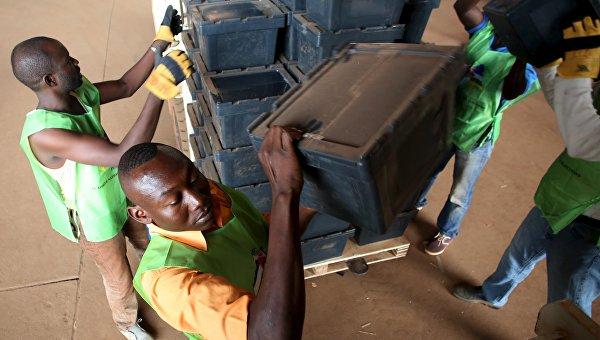 Подготовка к второму туру президентских выборов в ЦАР, 13 февраля 2016