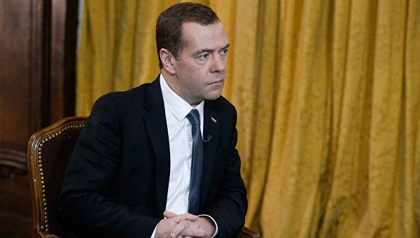 Интервью премьер-министра Рф Д. Медведва телеканалу Euronews