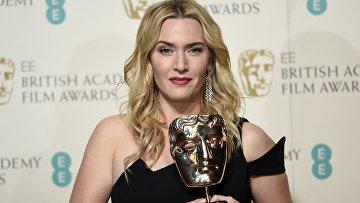 Актриса Кейт Уинслет получила премию BAFTA за лучшую женскую роль второго плана