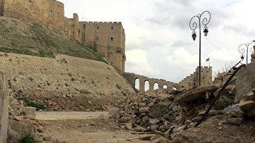 Старый Алеппо, Сирия. Архивное фото