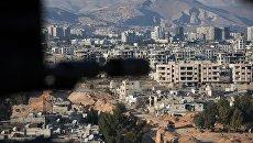 Джобар-район Дамаска контролируемый боевиками Джебхат ан-Нусры. Архивное фото
